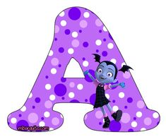 Abecedario de Vampirina Letras para descargar e imprimir gratis | Mi Barquito Birthday Pinata, Birthday Party Themes, Happy 6th Birthday, Girl Birthday, Vampire Party, Palace Pets, Kids Background, Ideas Para Fiestas, Disney Parties