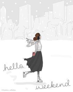HELLO WINTER WEEKEND =)