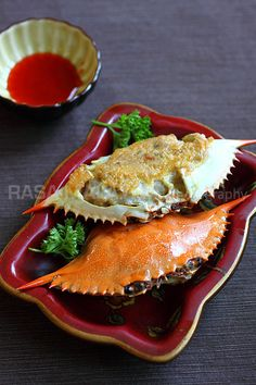 Stuffed Crab (Poo Cha) - this recipe brings back lots of childhood memories for me.