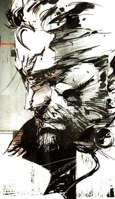 Art of Metal Gear Solid by Yoji Shinkawa - Album on Imgur