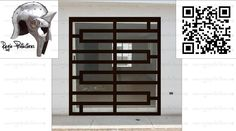 Steel Grill Design, Grill Door Design, Door Gate Design, Fence Design, Iron Windows, Iron Doors, Windows And Doors, Window Grill Design Modern, Window Design
