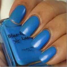 Blue-Eyed Girl Lacquer: Sirens Are Made For Water, Not Snow! (Siren Series) #blueeyedgirllacquer #begl #beglove #swatch #indiepolish #beglsiren