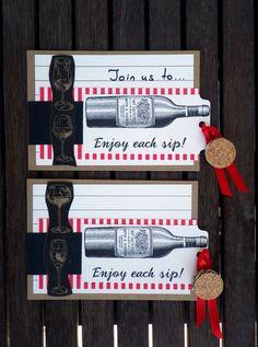 How to make wine themed invites with Canvas Corp papers! Wine Magazine, Travel Scrapbook, Wine Safari, Creative Studio, Wine Making, Magazines, Paper Crafts, Wine Fridge, Beer Tasting