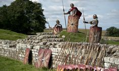 Unearthed near Hadrian's Wall: lost secrets of first Roman soldiers to fight the barbarians Uk History, Roman History, History Photos, Ancient Ruins, Ancient Rome, Family Days Out Uk, Roman Britain, Roman Soldiers, Easter Activities