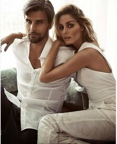 Stunning Beauty with Love.   Johannes Huebl and Olivia Palermo for Sunday Life Magazine