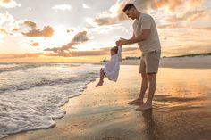 Toddler Beach Photos, Baby Beach Pictures, Beach Kids, Sunset Pictures, Toddler Beach Photography, Sunset Photography, Sunset Family Photos, Family Pictures, Beach Sessions