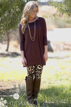 Fall Favorite Tunic! 3/4 and Long Sleeves Available! 21 Colors! | Jane