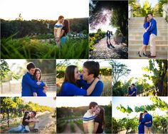 Winery Vineyard Engagement Photos – Sacramento Wedding Photographer