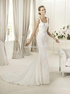 Pronovias Wedding Dresses - Style Dia Modest Wedding Dresses 5d8ac3beb218