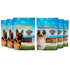 Healthy Partner Pet Snacks - Beef Variety Pack - All-Natural Chews and Strips - 3 oz. Bags, Pack of 6 Dog Snacks, Dog Treats, Beef Strips, Coding, Packing, Pets, Healthy, Nature, Amazon