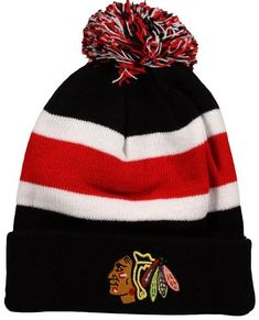 on sale e8287 acf34 Chicago Blackhawks  47 Brand Breakaway Knit Hat – Red Fit Team, Chicago