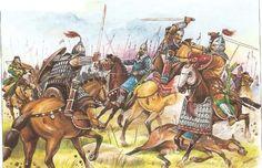 Bulgars v. Khazars Pictures of Steppe Warriors | Steppe History Forum