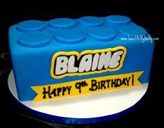 lego cake | ... , Cleveland, Dayton Wedding Birthday Cakes - Sweet Art Cakes