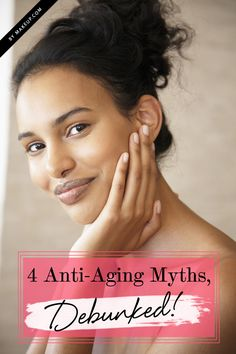 Beauty Fact or Fiction: 4 Common Anti-Aging Myths, Debunked!- Some really useful information on skin care!!  http://track.markethealth.com/SH3Dd
