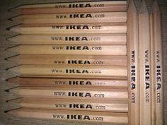 Ecco una piccola Foto delle Matite di IKEA in versione ORIGINALE