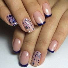 french-nail-design.jpg (590×592)