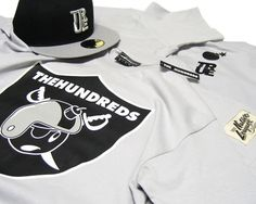 the hundreds x cap + sweatshirt