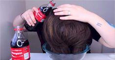 """Ellko tente l'infâme """"Coca-Cola pour rincer les cheveux""""."""
