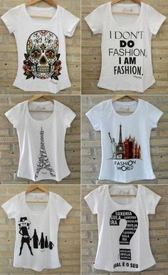 t shirt feminina - Pesquisa Google