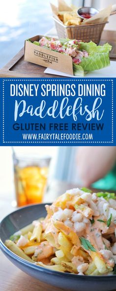 One of the most interesting restaurants around where the restaurant actually IS a ferry boat! Paddlefish in Disney Springs Gluten Free Dining Review by FairytaleFoodie.com Disney Dining I Disney Vacation Tips I Disney Gluten Free I Disney Food