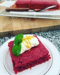 Torta húmeda de remolacha