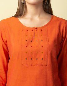 Kurti Neck Designs, Bear Wallpaper, India, Orange, Celebrities, Sweaters, Cotton, Stuff To Buy, Dresses
