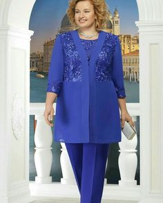 Magbridal Attractive Pant Suits Tulle & Chiffon Jewel Neckline Mother Of The Bride Dresses With Lace Appliques Plus Size Cocktail Dresses, Plus Size Dresses, Blouse Dress, Lace Dress, Afghani Clothes, Winter Wedding Outfits, Mother Of The Bride Dresses Long, Sheer Wedding Dress, Custom Dresses