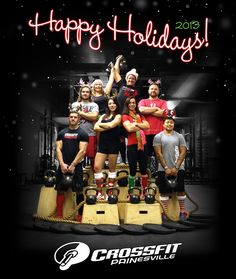 CrossFit Painesville Trainer Photo Christmas Photos, Cross Training, New Recipes, Happy Holidays, Crossfit, Trainers, Paleo, Challenges, Gym