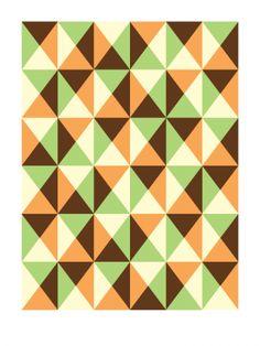 Dirk Bogarde (2009) - Geometric Art by Gary Andrew Clarke