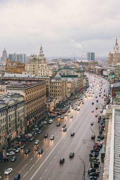 Day of Moscow: By Stepan Tretyakov | #lifeadvancer | @lifeadvancer