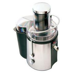 "Koolatron Total Chef Juicin' Power Juicer - Stainless Steel (KMJ01)  ""This is on my Christmas wish list"""
