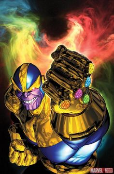 Thanos! And infinity gauntlet! Really hope this is going to come up in the next movies!