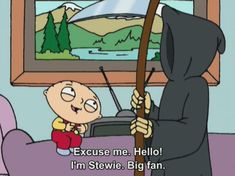 Death & Stewie. :)