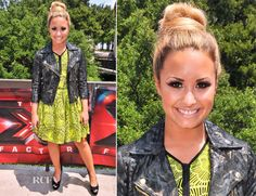 Demi Lovato In Topshop – 'The X Factor' Season 2 Austin Auditions