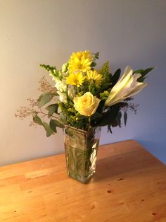 Yellow bouquet