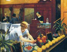 Tables for Ladies Artista: Edward Hopper Criação: 1930 Período: Realismo Social Localização: Metropolitan Museum of Art Gênero: Pintura histórica