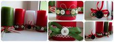 Candles for christmas! Advent Calendar, Candles, Holiday Decor, Christmas, Diy, Home Decor, Xmas, Decoration Home, Bricolage