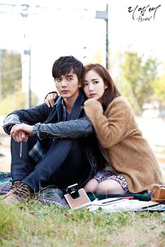 Behind the scenes photo of Yoo Seung Ho and Park Min Young | Remember