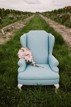 blue lounge seat Bridalbliss.com | Portland Wedding Planner | Oregon Event Design | Julia Green Photography Cherry Farm, Cedar Door, Barn Wedding Inspiration, Blue Lounge, Lounge Seating, Lounges, Event Design, Portland, Oregon