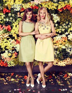 Coast High Summer collection featuring...Elizabette Dress & Topaz Dress