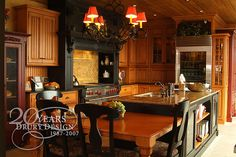 Drury Design Kitchen & Bath Studio Traditional Farm House Kitchen by Drury Design Kitchen & Bath Studio, via Flickr