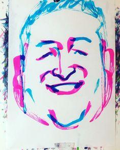 "torao fujimoto on Instagram: ""#mizutashinji #水田信二 #comedian #コメディアン #漫才師 #和牛 #へりくつ漫才 #おはよう朝日です #王様のブランチ #M1グランプリ #19800415 #birthday #誕生日 #1minut #1分 #1mindraw  #一分描画…"" Watercolor Tattoo, Instagram, Temp Tattoo"