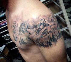 Outdoors Tattoo For Men Nature . Outdoors Tattoo For Men – tattoo sleeve men Quarter Sleeve Tattoos, Full Sleeve Tattoos, Sleeve Tattoos For Women, Tattoo Sleeve Designs, Tattoo Designs Men, Women Sleeve, Hand Tattoos, Tattoos Mandala, Forearm Tattoos