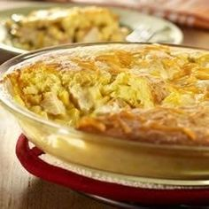You'll think back to simpler times when you serve this rich, cornbread-topped pot pie right in your own home.