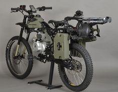 Mad Max' Crossbow-Motorbike