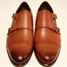 Double Monk Brun Polerad Men Dress, Dress Shoes, Oxford Shoes, Handmade, Fashion, Hand Made, Moda, Oxford Shoe, Craft