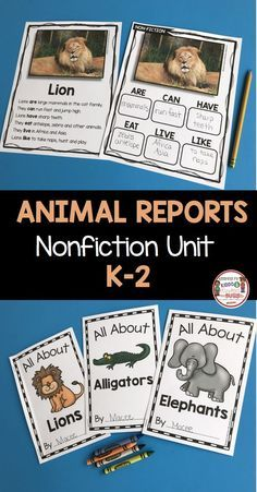 Task Shakti - A Earn Get Problem Nonfiction - All About Animals-Nonfiction Writing And Reading - Animal Reports - Zoo Unit - Kindergarten - First Grade - Second Grade - Informational Text - Non-Fiction Passages - Freebie Writing Lessons, Teaching Writing, Writing Activities, Science Lessons, Writing Curriculum, Homeschooling, Writing Ideas, Learning Resources, First Grade Science