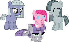 Make Maud Smile! - Rock Baby Names - Ideas of Rock Baby Names - Blinkie Pie Maud Pie Inky Pie and baby Pinkie Pie! Make Maud smile! My Little Pony Poster, My Little Pony Comic, My Little Pony Pictures, Rock Family, Cute Family, Evans Art, Little Poni, Mlp Fan Art, Imagenes My Little Pony