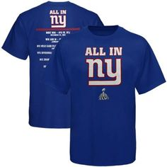 Giants All-In T-shirt! http://pinterest.com/nygbigblue/