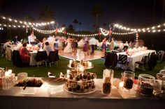 I like this lights too for an outdoor reception